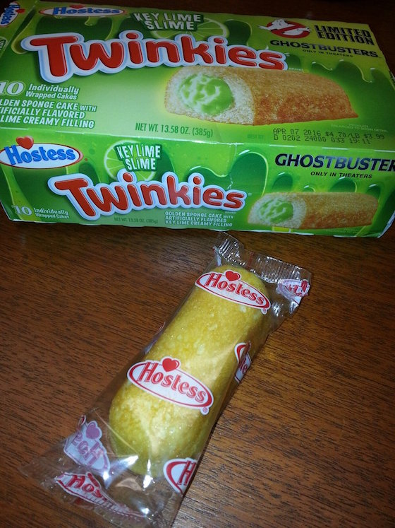Some Gross 'Ghostbusters' Twinkies Are on the Way