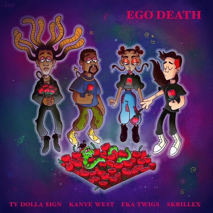 Ty Dolla $ign releases 'Ego Death' featuring Kanye West, fka Twigs, Skrillex