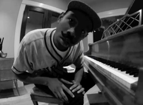"Tyler, the Creator ""Yonkers"" (piano version) (video)"