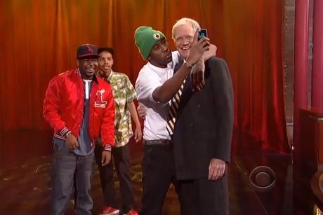 "Tyler, the Creator ""Rusty"" (ft. Earl Sweatshirt and Domo Genesis) (live on 'Letterman')"