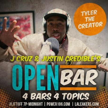 "Tyler, the Creator ""Open Bar"" (freestyle)"