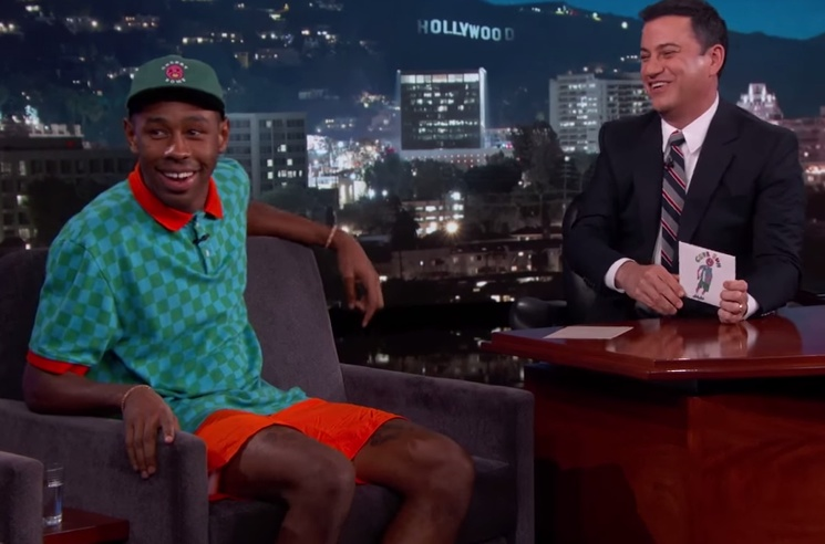 Tyler, the Creator 'Jimmy Kimmel Live!' interview
