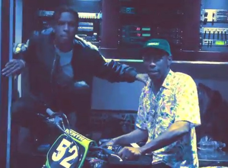 Tyler, the Creator 'What the Fuck Right Now' (Kanye West freestyle) (ft. A$AP Rocky) (video)