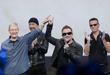 U2 and Apple Face Backlash After Force-Feeding New Album to iTunes Users