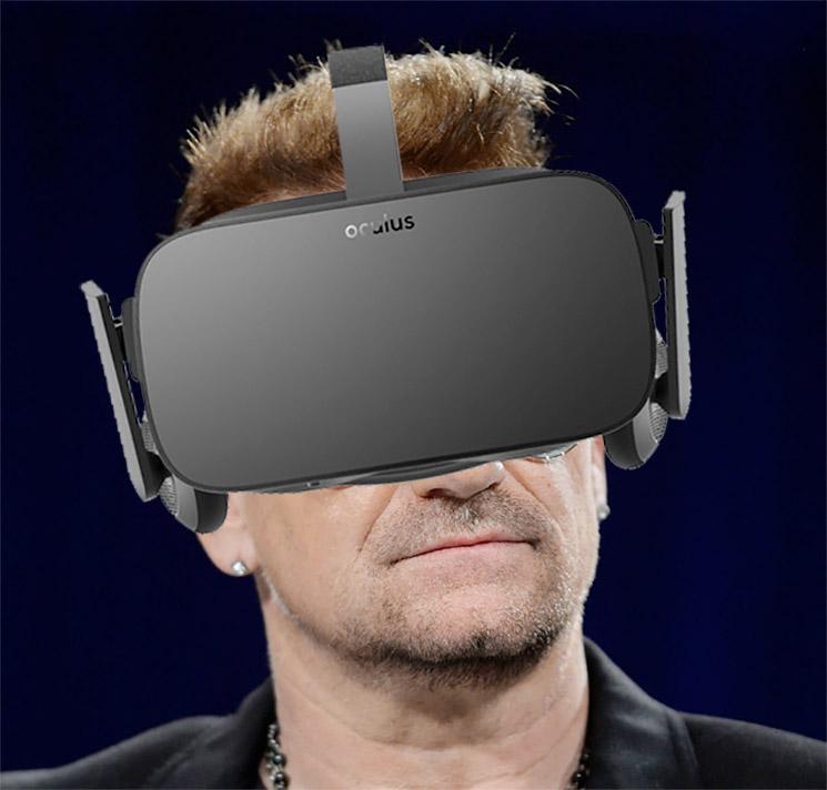 U2 Share Virtual Reality Music Video