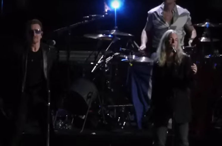 Patti Smith Joins U2 on Stage for Tribute to Paris