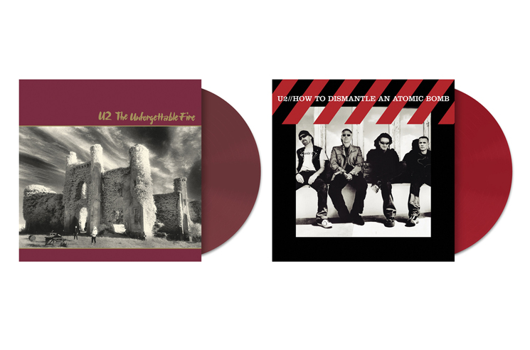 U2 Give 'The Unforgettable Fire' and 'How to Dismantle an Atomic Bomb' Vinyl Reissues