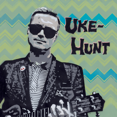 "Uke-Hunt ""Because"" (Dave Clark Five cover)"