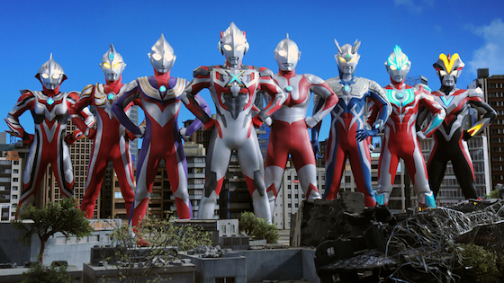 Ultraman X the Movie: Here Comes! Our Ultraman Directed by Kiyotaka Taguchi