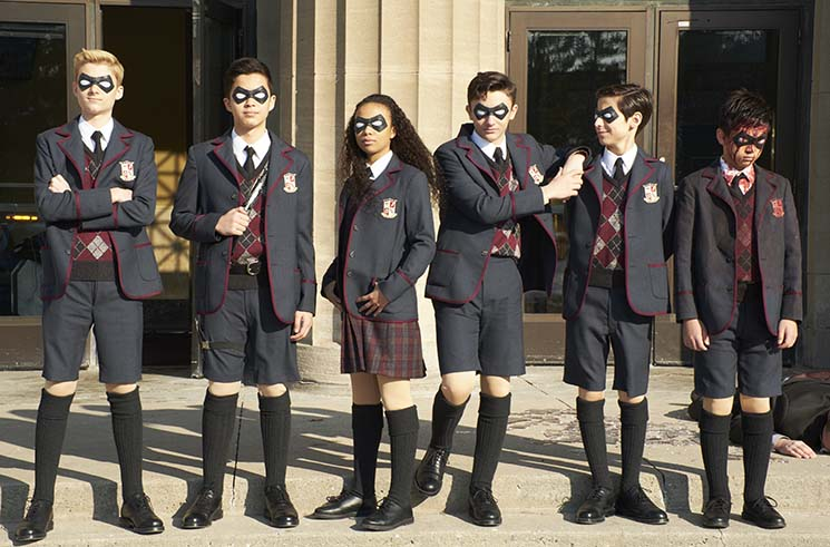 Inside the World of 'The Umbrella Academy,' Netflix's New Family Drama Masquerading as a Superhero Show