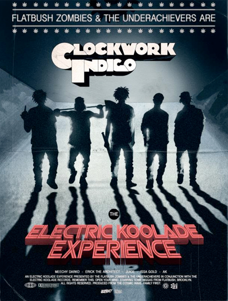 "Flatbush Zombies and Underachievers Reveal ""Electric Koolade Experience"" North American Tour"