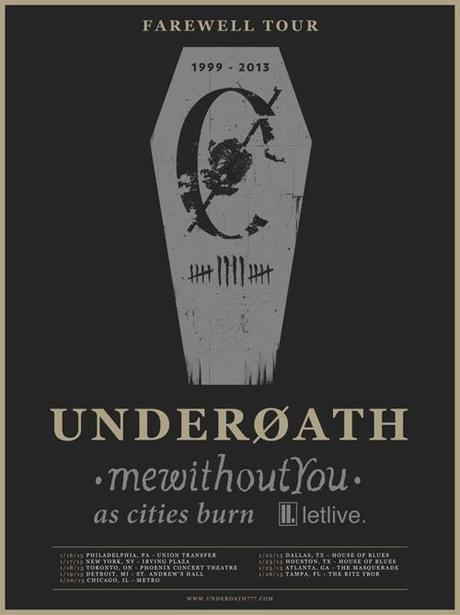 Underoath Announce Toronto Stop on Farewell Tour
