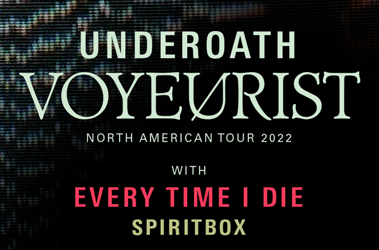Underoath Announce North American Tour with Every Time I Die, Spiritbox