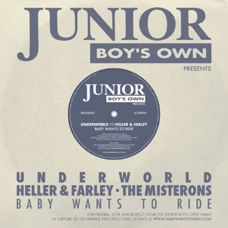 "Underworld vs. Heller & Farley ""Baby Wants to Ride"" (Frankie Knuckles cover)"