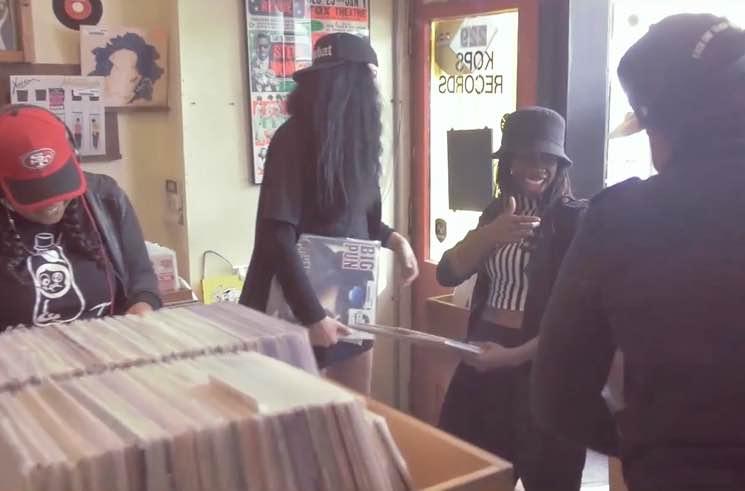 Keysha Freshh, Lex Leosis, Haviah Mighty & pHoenix Pagliacci 'Undun' (video)