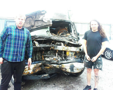 Vancouver's Unfun Involved in Brutal Car Wreck, Launch Fundraising Campaign to Cover Medical Bills