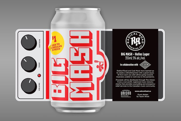 Toronto's Cask Music Teams with Radical Road Brewery for 'Big Mash' Charity Beer