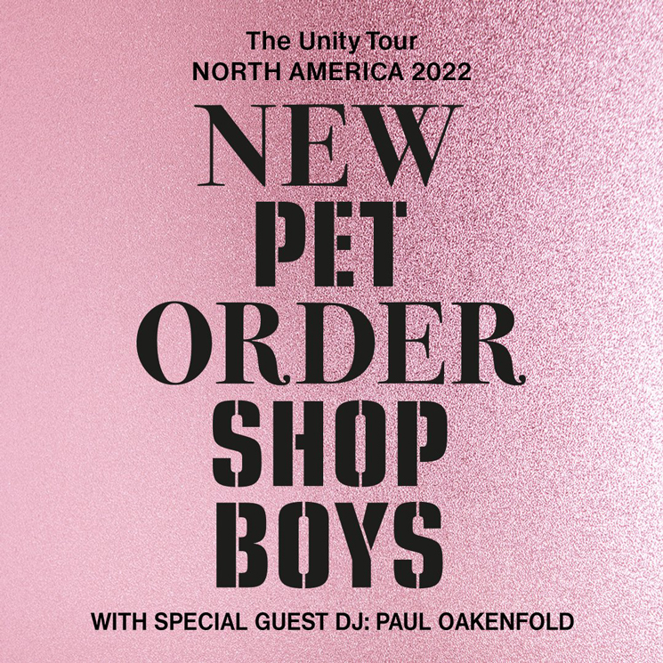 New Order and Pet Shop Boys Reschedule Their 'Unity Tour' Until 2022