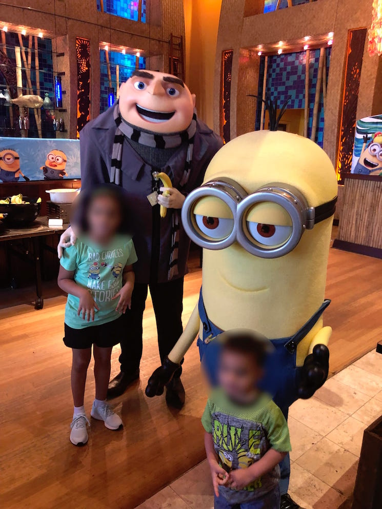 'Despicable Me' Mascot Fired from Universal Studios After Flashing a White Power Symbol in a Photo with a Child