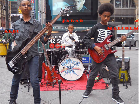 Teen Metal Band Unlocking the Truth Sign Mega-Deal with Sony