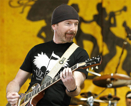 U2's The Edge Pisses Off Malibu Neighbours