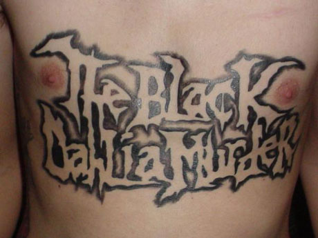 The Black Dahlia Murder Boldly Tour Canada in Winter