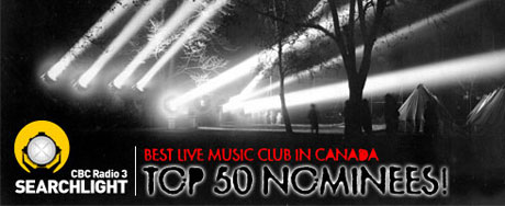 CBC Radio 3 Announces Competition To Find the Best Live Music Club in Canada