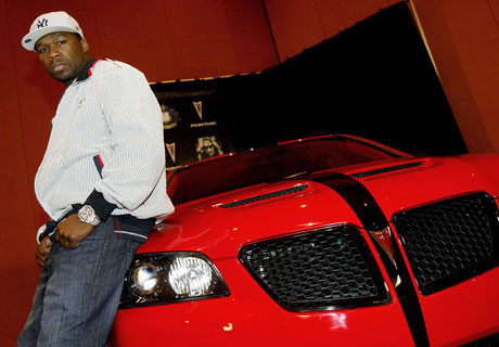 50 Cent's Pontiac G8 Cancelled By GM