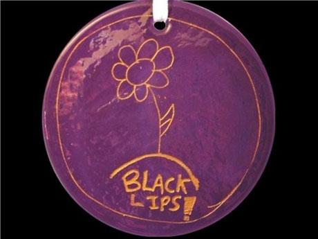 Bright Eyes, Black Lips, Iron & Wine Design Xmas Ornaments For Charity