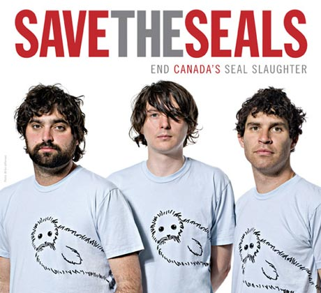 "Animal Collective Join PETA to ""Save the Seals"""
