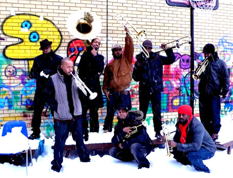 Hypnotic Brass Ensemble Spread The Message