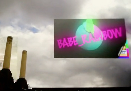 "Babe Rainbow ""Combed"" (video)"