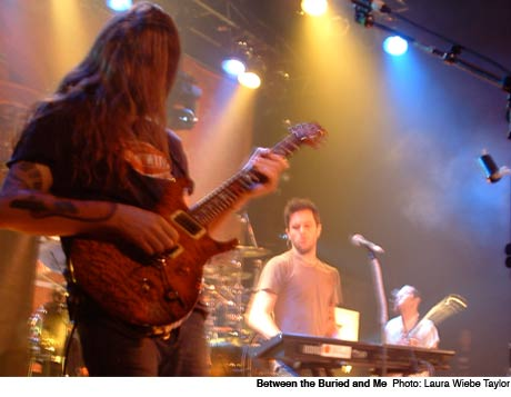 Between the Buried and Me / Cynic / Devin Townsend Project / Scale the Summit Opera House, Toronto ON January 26