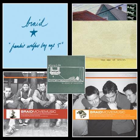 Braid LPs on Deck for Vinyl Reissue