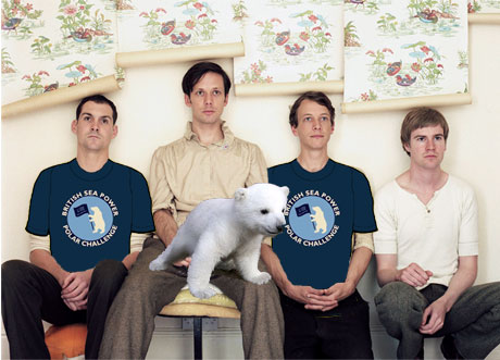 British Sea Power Donate To Polar Bears