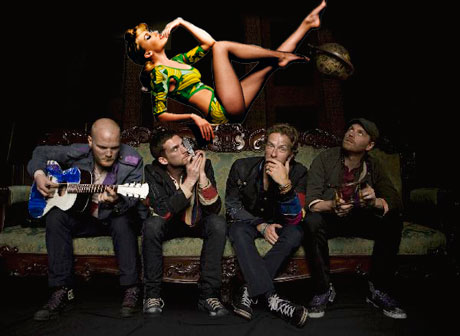 Coldplay Offer Free Download of Their Kylie Collaboration