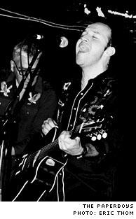 The Paperboys Horseshoe Tavern, Toronto ON - September 29, 2003