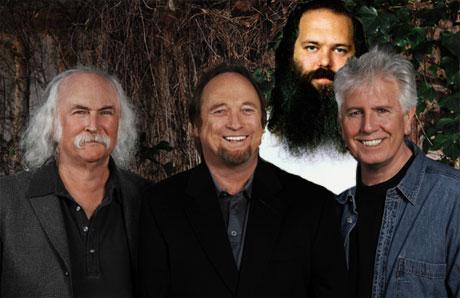 Rick Rubin To Produce New Crosby, Stills & Nash Album