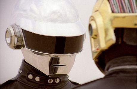 Daft Punk's Electroma Thomas Bangalter and Guy-Manuel De Homem-Christo