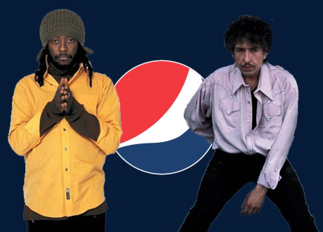 Bob Dylan Pens Jingle With Will.I.Am For Pepsi's Super Bowl Ad