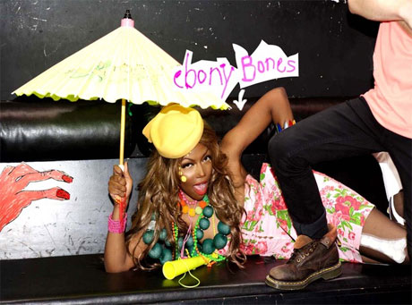 "Ebony Bones ""Don't Fart On My Heart"" / ""We Know All About You"""