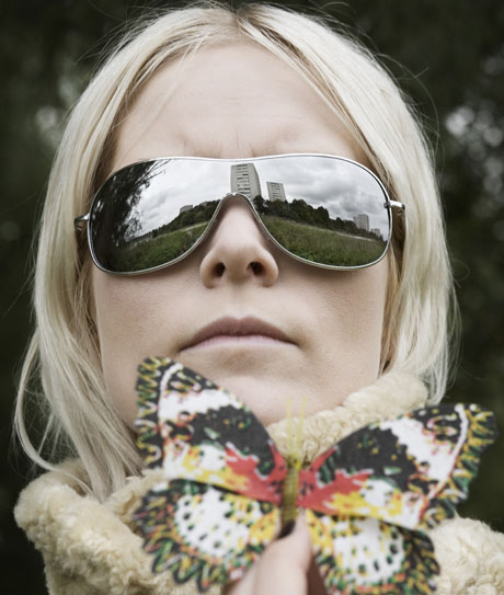 Karin Dreijer Andersson of the Knife and Fever Ray