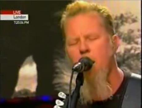 Metallica's James Hetfield Questioned Over Beard