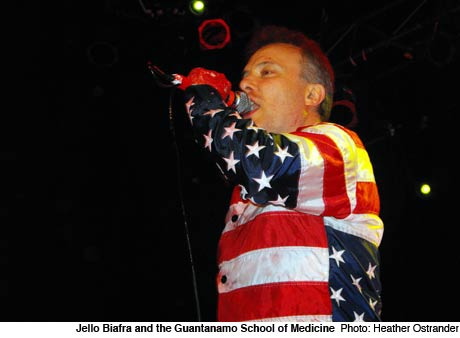 Jello Biafra and the Guantanamo School of Medicine Opera House, Toronto ON April 4
