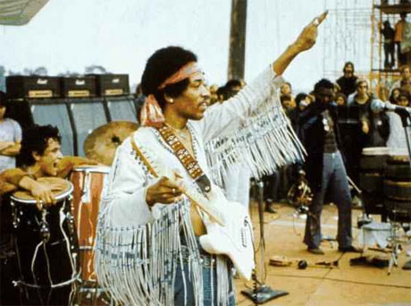 Jimi Hendrix's Guitar Strap From Woodstock Up For Auction