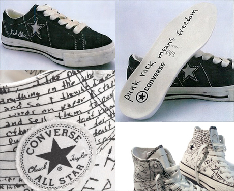 Converse Launches Kurt Cobain Sneakers