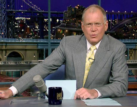 David Letterman Starts Record Label, Signs Some Pop Punk Band No One's Heard Of