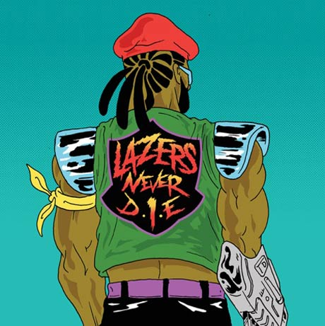 "Major Lazer ""Jump Up"" (Thom Yorke remix)"