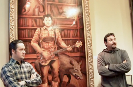 Modest Mouse's Isaac Brock Immortalized in Portland Mayor's Office