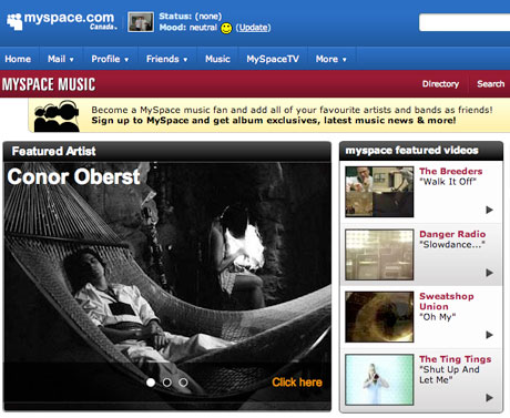 MySpace Music Accused of Leaving Out Indie Labels